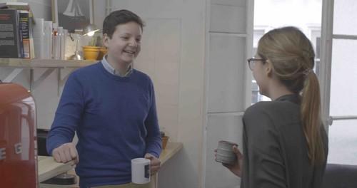 La cafétéria pour les échanges élèves - tuteurs